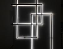 Metal Frame Light