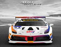 2018 Tempesta Racing SKY | Ferrari 488 Challenge Livery