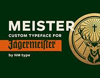 Meister custom typeface