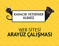 Kavacık Veteriner Kliniğini Web Arayüz Çalışması