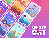 Kung-fu Cat - Mobile Game