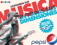 Pepsi Music: Integrated Campaign