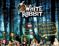 White Rabbit Breakfast Days Poster