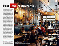 Ottawa magazine - Top 10 New Restaurants