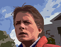 Marty McFly Portrait