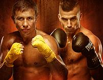 Golovkin VS Lemieux Boxing Poster