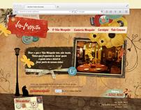 vilamosquito.com.br - Layout site institucional