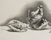 Still Life Drawings (Various Media)