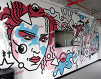 MURAL DESIGN: MTV Music / VIACOM