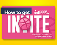 How to get a Dribbble Invite