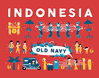 Poster : Indonesia, Old Navy