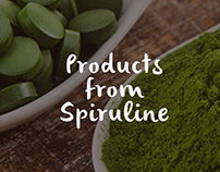 Logo and web design for Superfood Shop