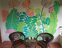 Mural - Secret Garden