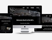 Grunge Coffee Shop Website