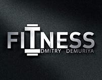Logo fitness Trenner Dmitry Demuriya