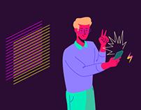 Illustration for Blockchain based CDN