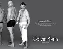 Counter Ad for Calvin Klein Mens Underwear