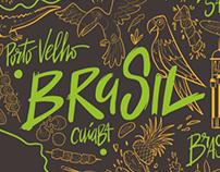 Brasileirinho - Logo design + Illustration