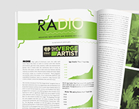 iHeartRadio's On The Verge, Double-Page Magazine Spread
