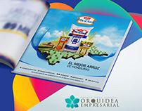 Diseño de Flyer - Premios Orquidea Empresarial