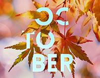 October Seasonal Poster