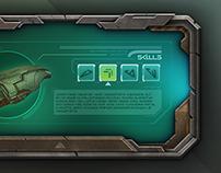 Sci-Fi GUI Concept (Personal Work)