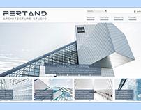 Architecture Studio – Website Design and Development