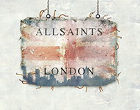 Craftwork Projects mockups for All Saints