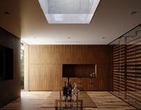 Oak Pass House - Wine cellar
