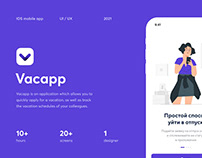 Vacapp - Easy way for your vacation