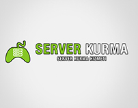 Server Kurma Logo Design