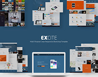 Excite - Multi-Purpose psd Template