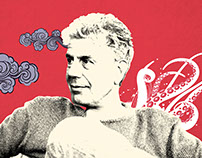 CNN Anthony Bourdain Parts Unknown Campaign Design