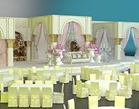 Arabic Wedding Stage Design