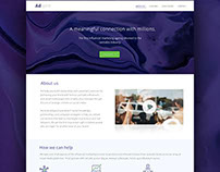 Adspire Landing Page
