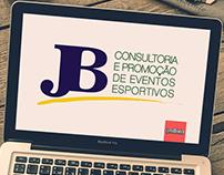 Logotipo JB consultoria e promoção de eventos esportivo