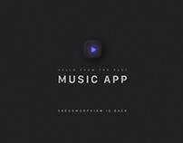 Music App - UI Trends 2020