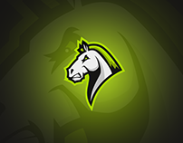 HORSE MASCOT LOGO, for Wisetail