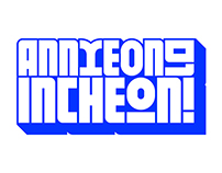 INCHEON! Typeface
