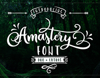 FREE Amastery Font Duo