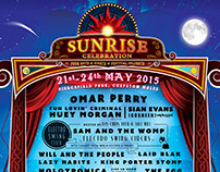 Sunrise Festival 2015: Poster Design
