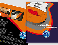 Print Design and Photography for Cool Acoustics