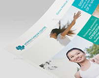 Women Cancer Centre - Medical Flyer Template 01