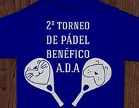 2º torneo de pádel benéfico A.D.A.