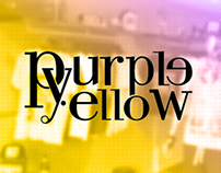 Desktop and Mobile - Purple Yellow