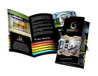 Contest: create a brochure for ColourPro Painting