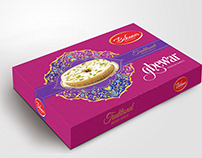 Ghewar Box Packaging Design