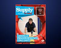 Projet pour le magazine interne Carrefour Suply Chain
