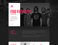 Trianglify Music // Branding and Responsive Website