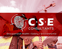 C.S.E Consulting Expo branding elements